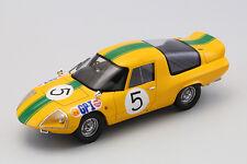 EBBRO 44368 1:43 Daihatsu P3 1966 Japan GP #5 resin model Yellow/Green