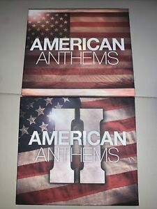 American Anthems, Volume 1 And 2 Various, Very Good Box set 6 CD Free Shipping