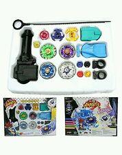 Beyblade Set Top Flight Rapidity Fight Launcher Birthday Kids Present Toys Game