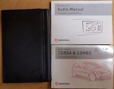 VAUXHALL CORSA & CORSA COMBO OWNERS MANUAL WALLET HANDBOOK 2003-2006 PACK A-530