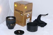 Nikon NIKKOR AF-S 85mm f/1.4 G telephoto Lens. BOX. Nikon z7, D5, D850