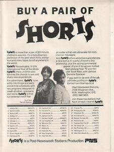 Scott Baio Danielle Spencer 1979 Ad- Shorts  PNS