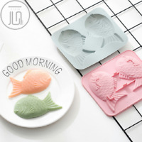 Fish Silicone Cake Chocolate Baking Mold Ice Cube Tray Jelly Candy Mould Tool