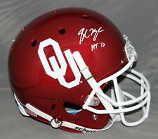 33f8eb852 Baker Mayfield Signed Autographed University of Oklahoma FS Helmet HT17  Beckett