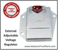 1970-87 External Adjustable Voltage Regulator Chrysler Dodge Plymouth HD