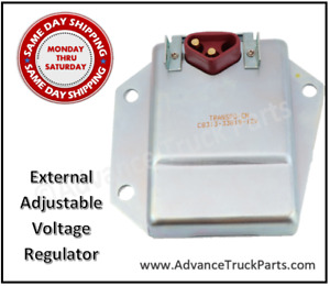 HD Chrysler Dodge Plymouth External Adjustable Voltage Regulator 1970-1987