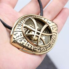 Doctor Strange Movie The Eye of Agamotto Props Amulet Necklace Pendant Cosplay