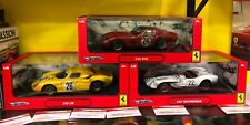 LOT OF 3 FERRARI DIRTY RACE CARS 1 250 LeMANS 1 250 TESTAROSSA & 1 250 GTO 1:18