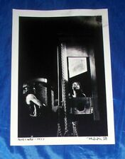 "Alice Cooper Guillotine 1977 Mark Weiss 12"" X 19"" Black & White Photo Print"