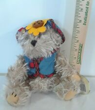 Brass Button Fully Jointed Collectible Bear 1996 Blossom