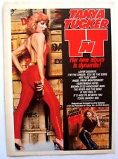 TANYA TUCKER 1978 PROMO ADVERT TNT