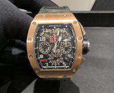 Richard Mille RM 011 ROSE GOLD TITANIUM AUTOMATIC CHRONOGRAPH FELIPE MASSA