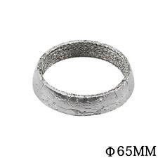 """Stainless Steel Exhaust Pipe Down 2.5"""" Tube Flange Gasket Donut"""