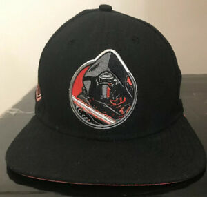 Star Wars Kylo Ren Hat The Force Awakens The Last Jedi Black Snap Back 9Fifty