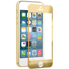 NAZTECH Tempered Glass Gold Screen Protector for Apple iPhone 5s/5/5c