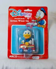 1984 Donald Duck Wind-Up Toy New in Package Disney ARCO Vintage Toy