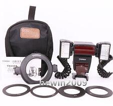 YongNuo YN24EX TTL Macro Ring Flash speedlite for Canon 5DIII 5DII 7DII 6D 700D