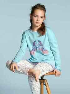 CALIDA Mädchen Mädchen Pyjama lang Girls Elephant