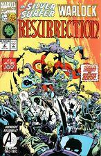 SILVER SURFER WARLOCK RESURRECTION (1993) #2 - Back Issue