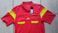 Adidas neu Schiedsrichter Trikot  UCL rot-gelb Größe XXL  Kurz-Arm