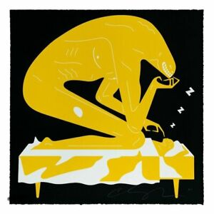 Cleon Peterson Nightmare (Black) xx/100 Limited Edition Print Signed
