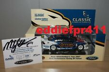 1/43 SIGNED 2007 FORD BF FALCON MARK WINTERBOTTOM FPR PERFORMANCE ORRCON RACING