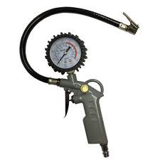Druckluft Reifenfüller Reifenprüfer Reifenfüllgerät mit Manometer