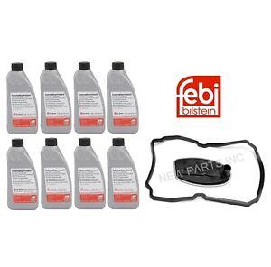 Febi Auto Trans Filter Kit + Fluid For Dodge Mercedes Sprinte Jaguar