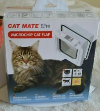 Cat Mate Elite Microchip Cat Flap Ref 356W