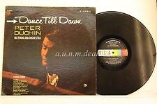 "Dance Till Dawn Peter Duchin His Piano And Orchestra - Decca  LP 12"" (VG)"