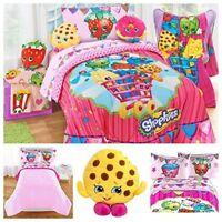 Shopkins Comforter Kids Twin Full Size Reversible Comforter Bedding 72 X 86 New