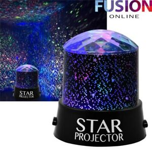 Projector Night Light Star Sky Moon Led Mood Lamp Sky Rotating Battery Operated