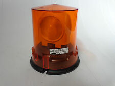 Sirena Gyro B 55W Amber 3Lens Rotating Vehicle Warning Beacon/ Light 12VDC Amber