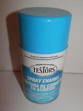 Testors Spray Enamel 3oz Gloss Light Blue #1208 New