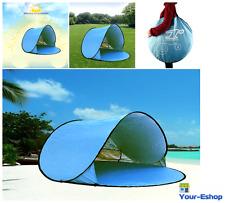 Pop up Instant Portable Outdoors Beach Sun Shade Tent Shelter Cabana Canopy UV