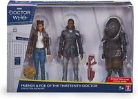 Doctor who Friends and Foe Of The Thirteenth Doctor Collector Figure Set