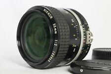 Near Mint  Nikon Ai Nikkor 35mm f2 Wide Angle Manual Lens from Japan