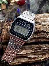 Reloj Pulsera Vintage Retro digital CASIO 81QS-35 LCD de octubre de 1981