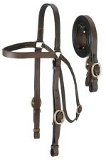 Australian Barco Bridle - Headstall and Reins - Dark Oil Leather