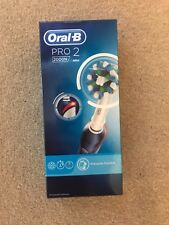 Oral B Pro 2 2000n Electric Toothbrush Blue Brand New RRP £70