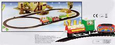 Weihnachtszug 9 tlg - Deko Zug - Weihnachten Eisenbahn Mini Zug Weihnachtsbahn