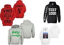 Personalized Custom Hoodie Sweatshirt New
