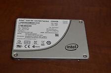 "Intel DC S3700 Enterprise 200GB 2.5"" SSD SSDSC2BA200G3 Drive"