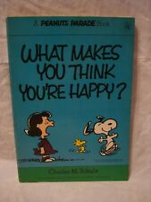 Peanuts Parade # 5 – What Makes You Think You're Happy?