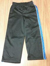 365 Kids Garanimals Boy's Polyester Black Pants Elastic Waist Blue Stripe Size 5
