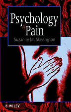 PSYCHOLOGY OF PAIN., Skevington, Suzanne M., Used; Very Good Book