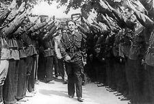 Horia Sima Iron Guard Fascists Bucharest Romania 1940 7x5 Inch Reprint Photo