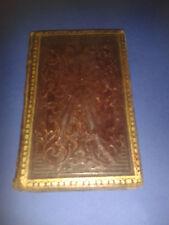 LIBRO PREGHIERE IL BUON GIOVINETTO USO COLLEGI MILITARI 1861 RILEGATURA PREGIO
