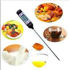 Instant Digital Read Food Probe Cooking Meat Kitchen BBQ Thermometer Temperature