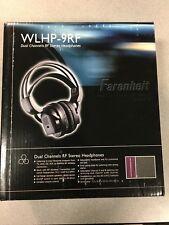 FARENHEIT/POWER ACUSTIC WLHP-9RF RF Wireless Headphones